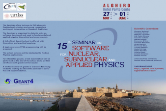 XV Seminar on Software for Nuclear, Subnuclear and Applied Physics